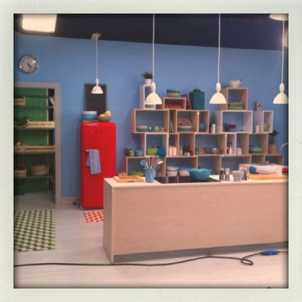SET DESIGN FOR TV COMMERCIAL IN NORWAY