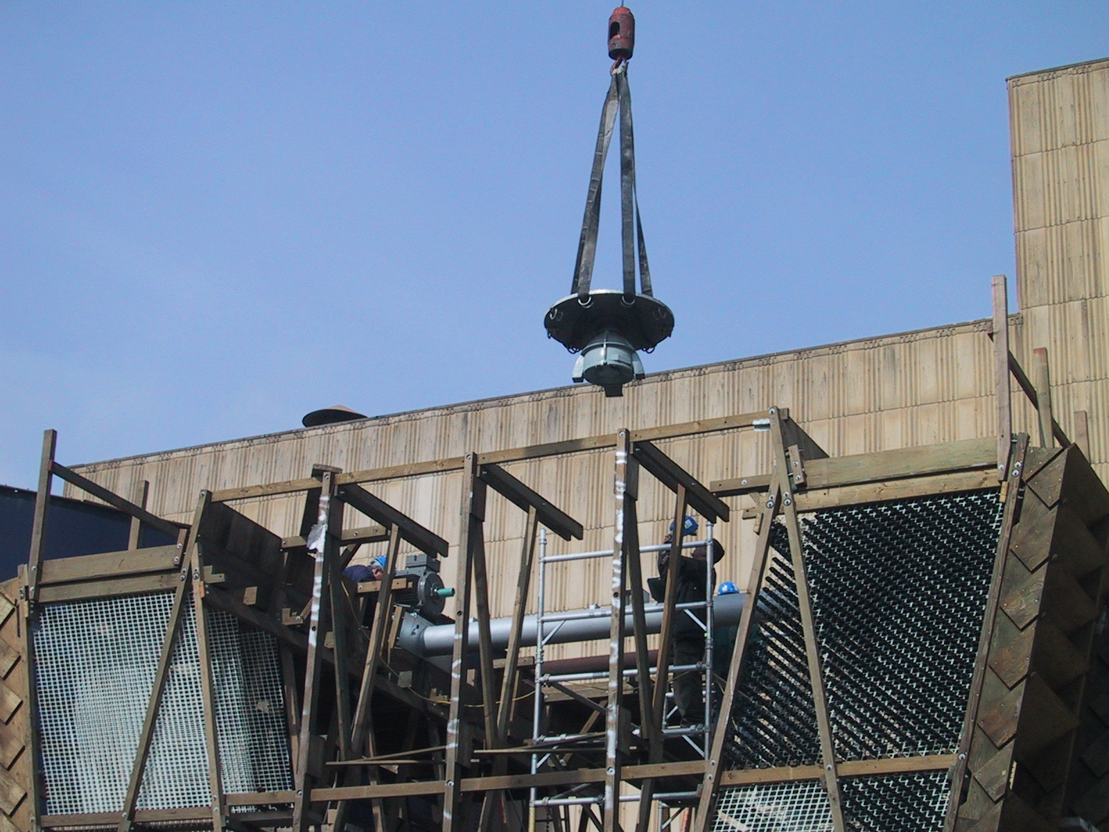 Cooling Tower<br>Construction