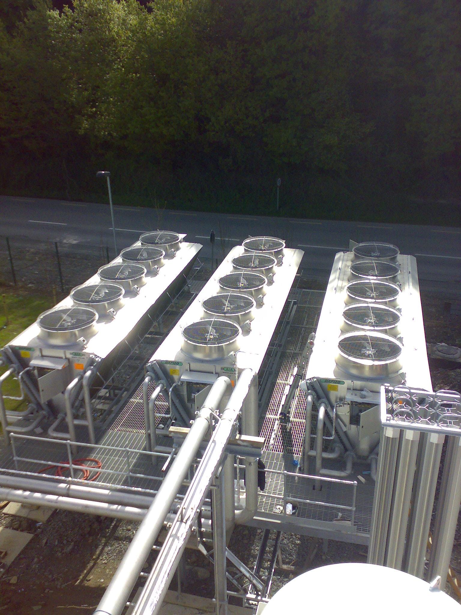 Adiabatic Cooling<br>Project Bio Fuels