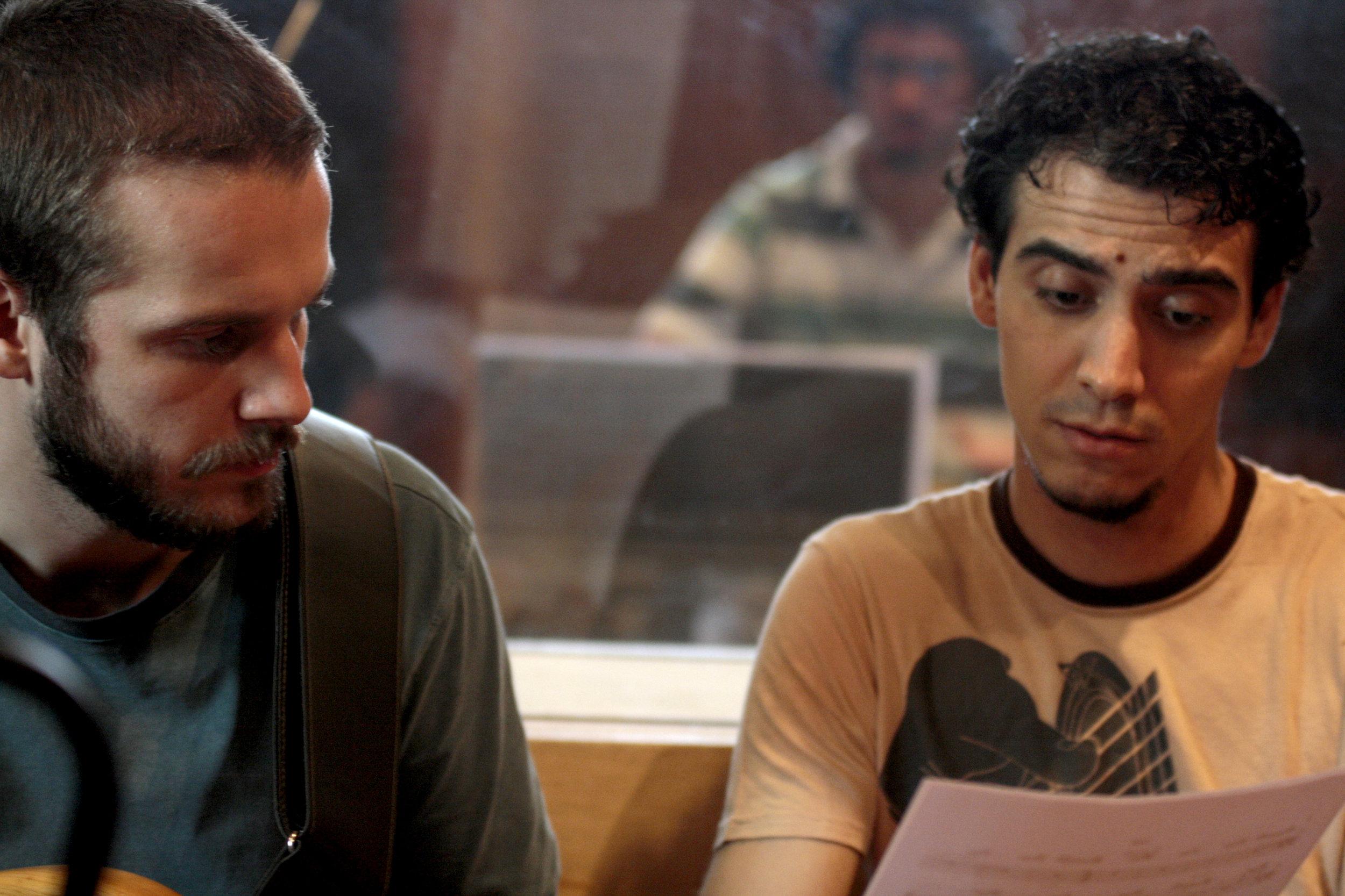 richard metairon e deni domenico / Foto: Fernanda Mota
