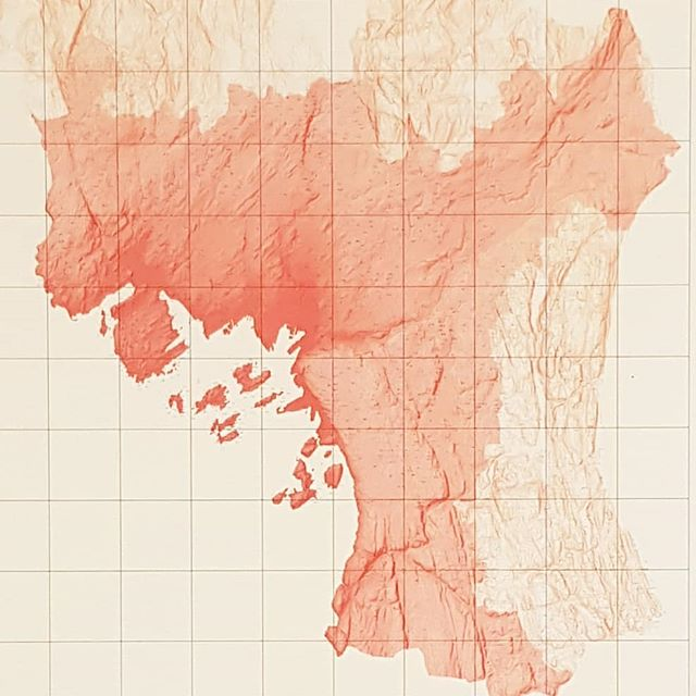 Oslo Building Zone & Topography #mapping #cartography #oslo #planning #graphicwork