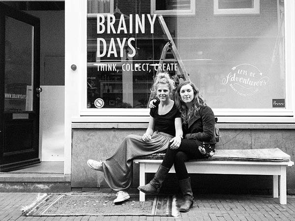 BRAINY DAYS - our neighbor and favorite interior shop owner