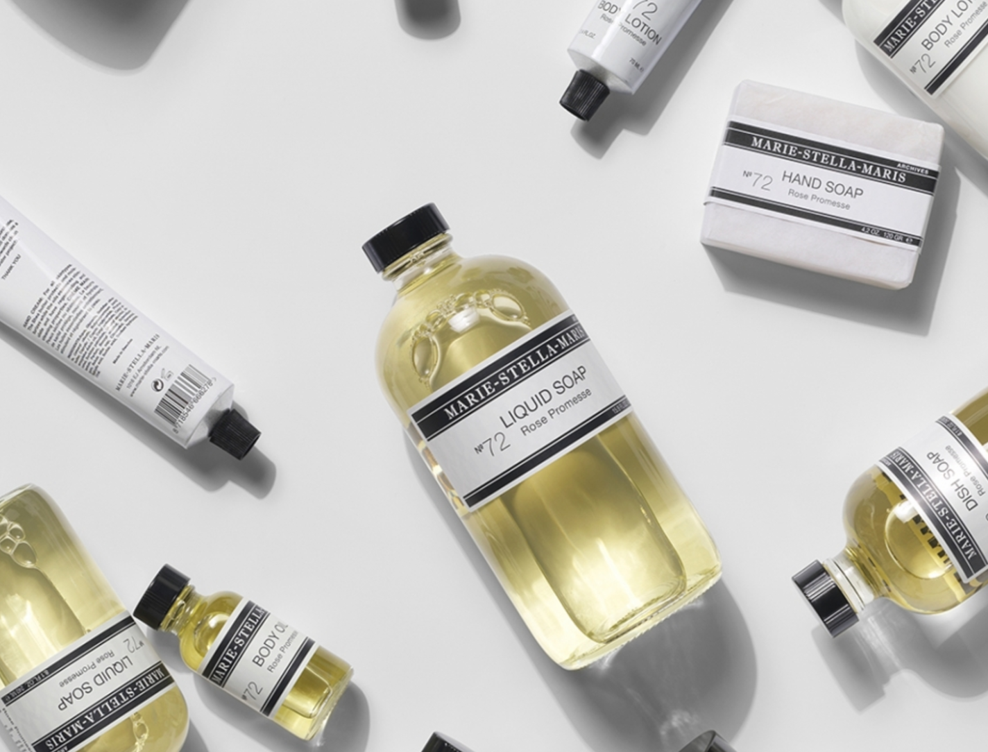 Marie stella maris - our in-house body care products