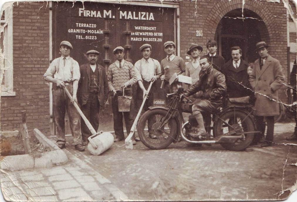Corradi & sons - italian craftmanship in amsterdam north. THANKS ALDO, FOR OUR AWESOME TERRAZZO BATHROOM FLOORS