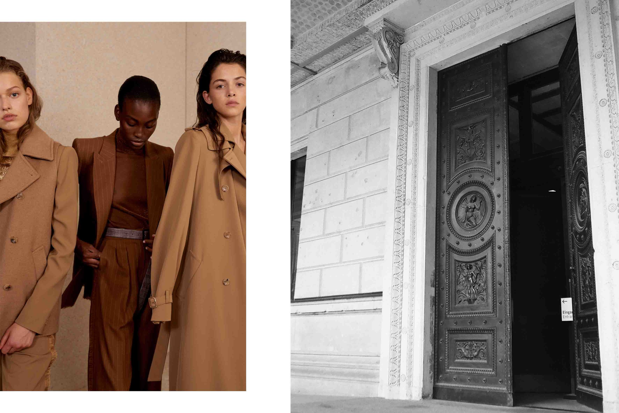 backstage story & lookbook - for Max Mara