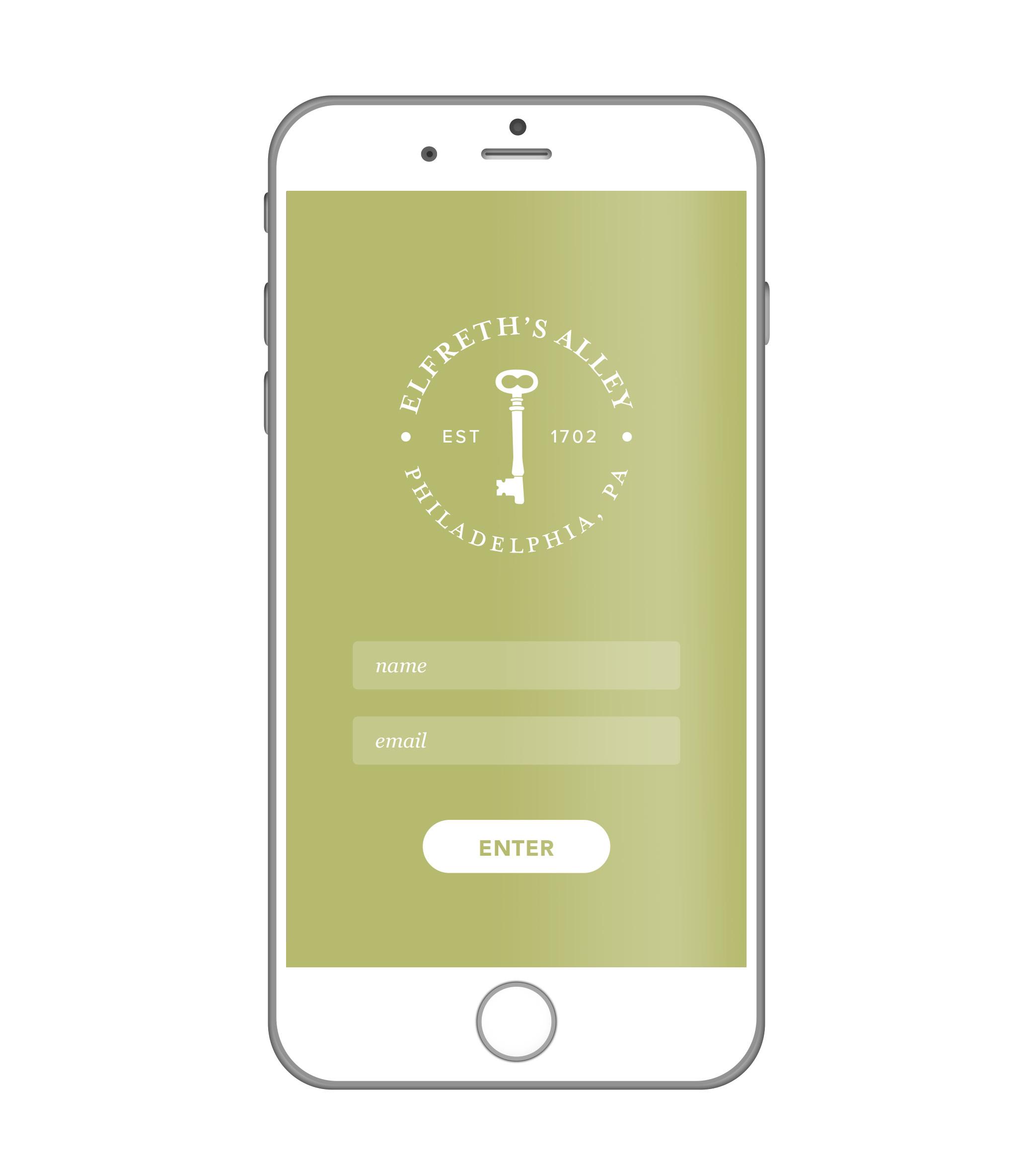 ELFRETH'S ALLEY  App Design