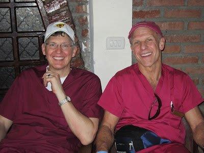 Dr Steven Ellinwood &  Dr Tom Blake