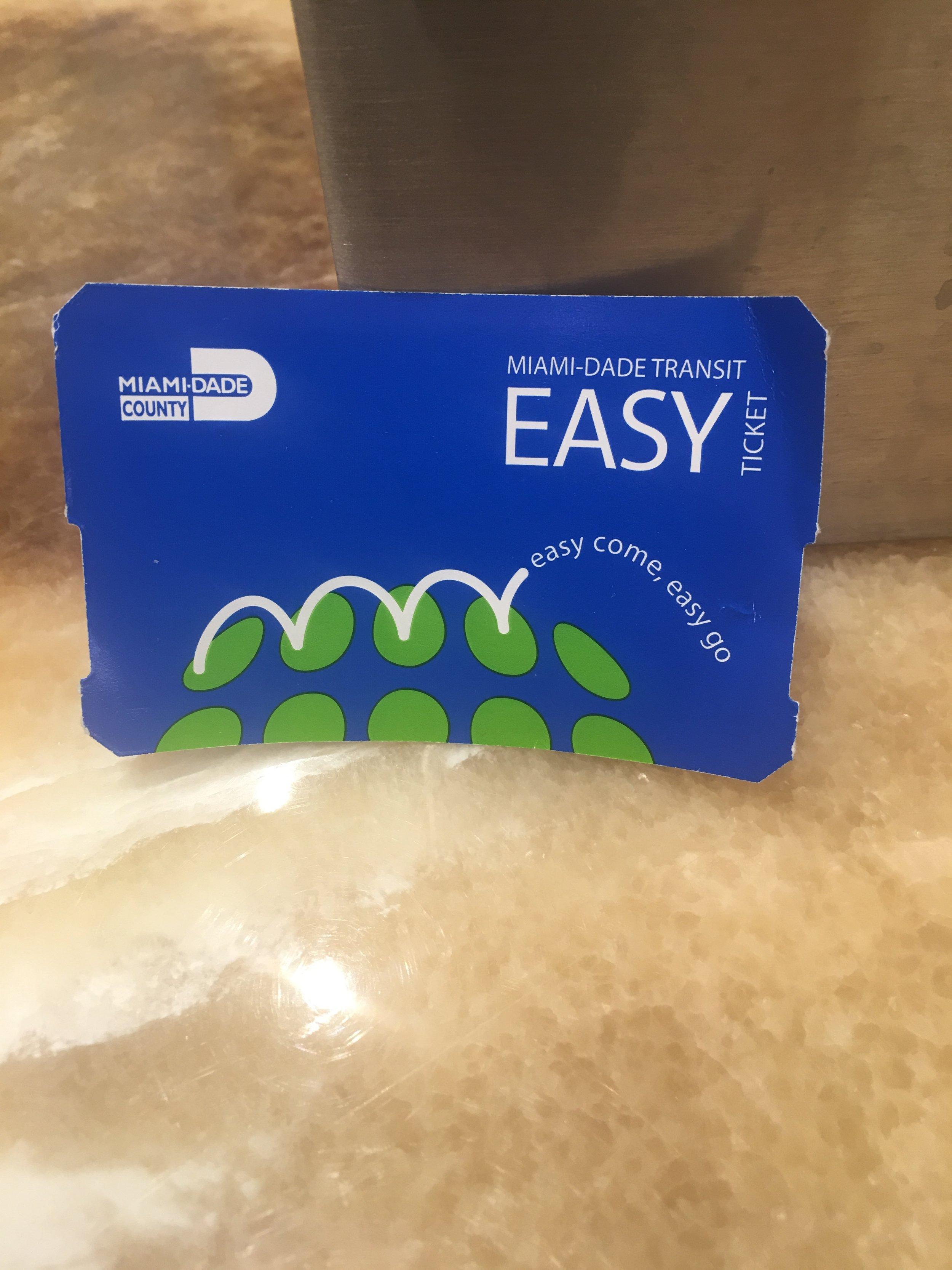 easy ticket