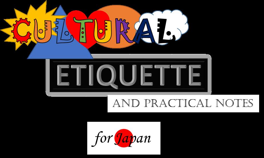 cultural etiquette for Japan
