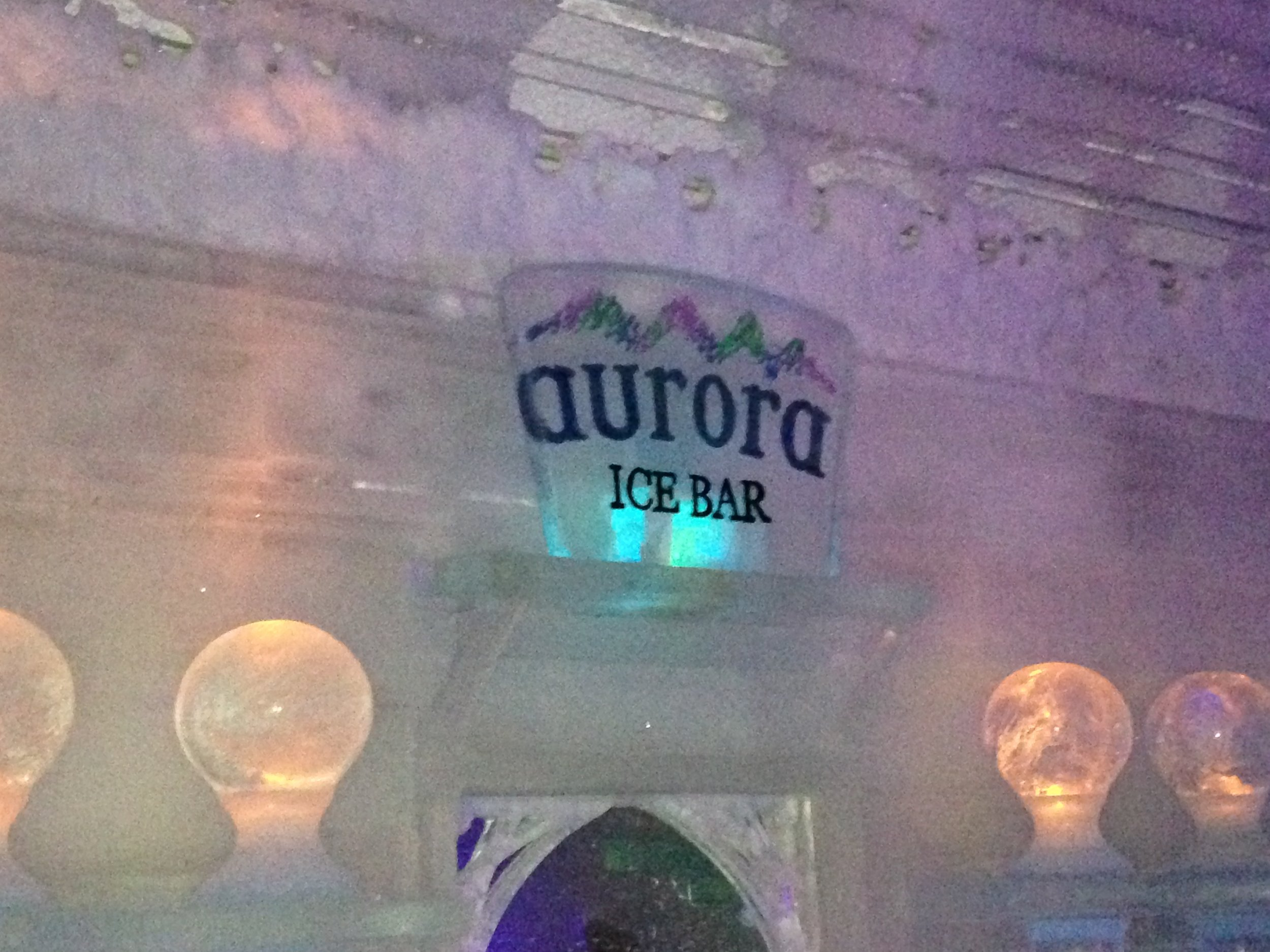 aurora ice museum bar