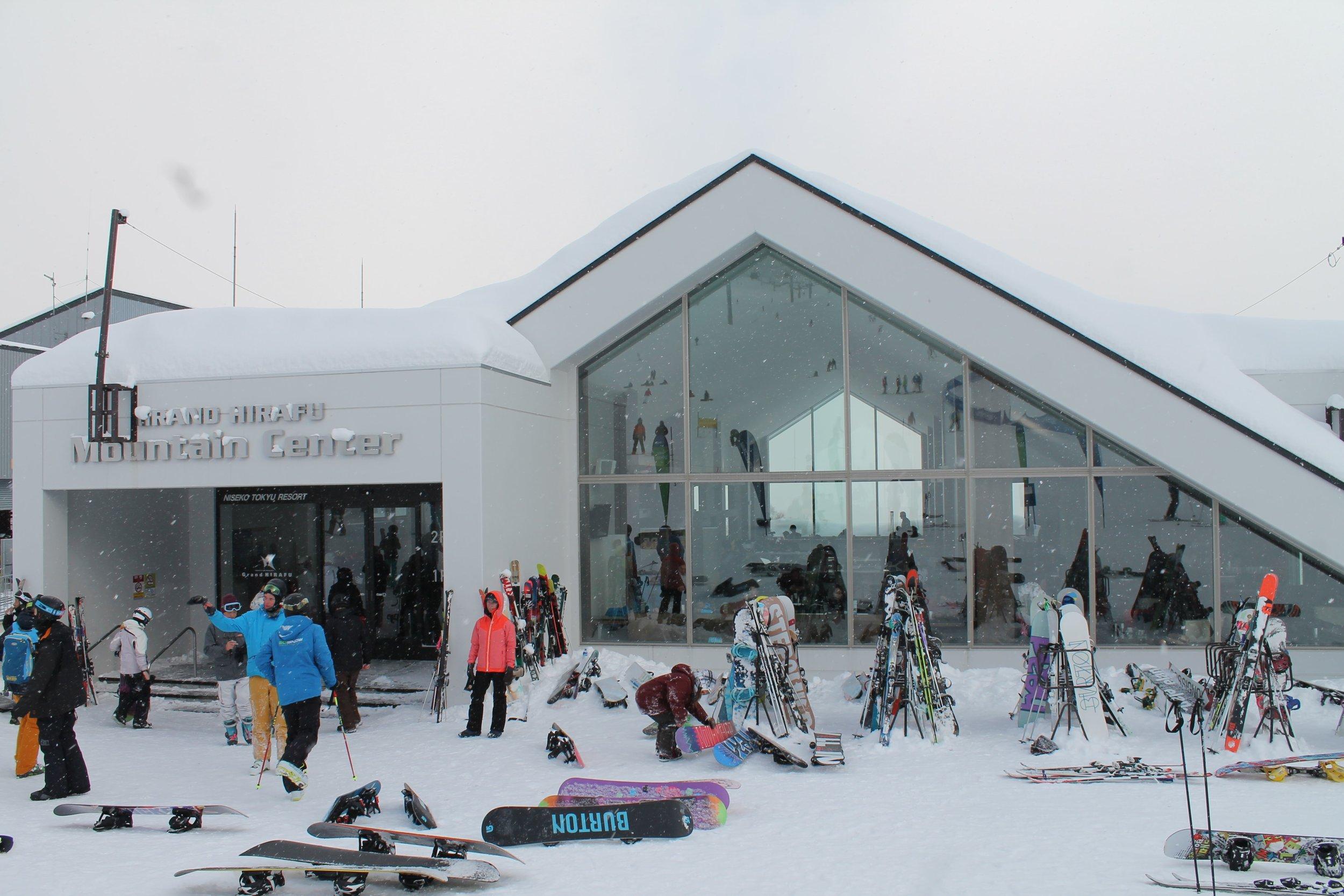 niseko grand hirafu ski resort