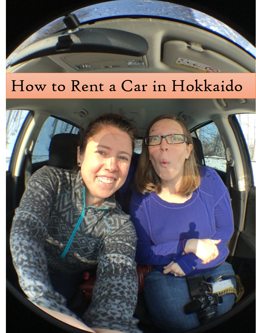 how to rent a car in hokkaido