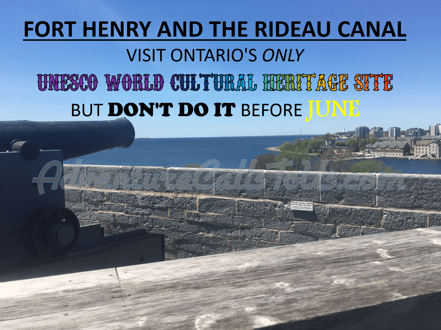 Fort henry and rideau canal