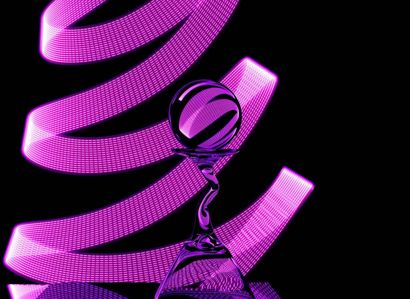 """"""" Ribbons of Light """", by Karen Chappell"""