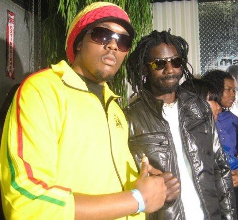 King MAS & Buju Banton circa '07