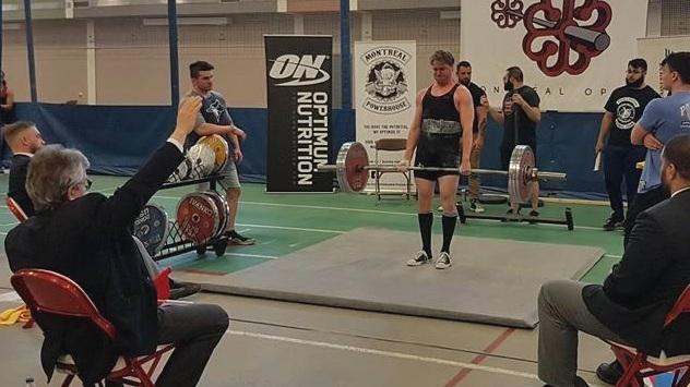 Compétition en dynamophilie, Montreal Open 2018.
