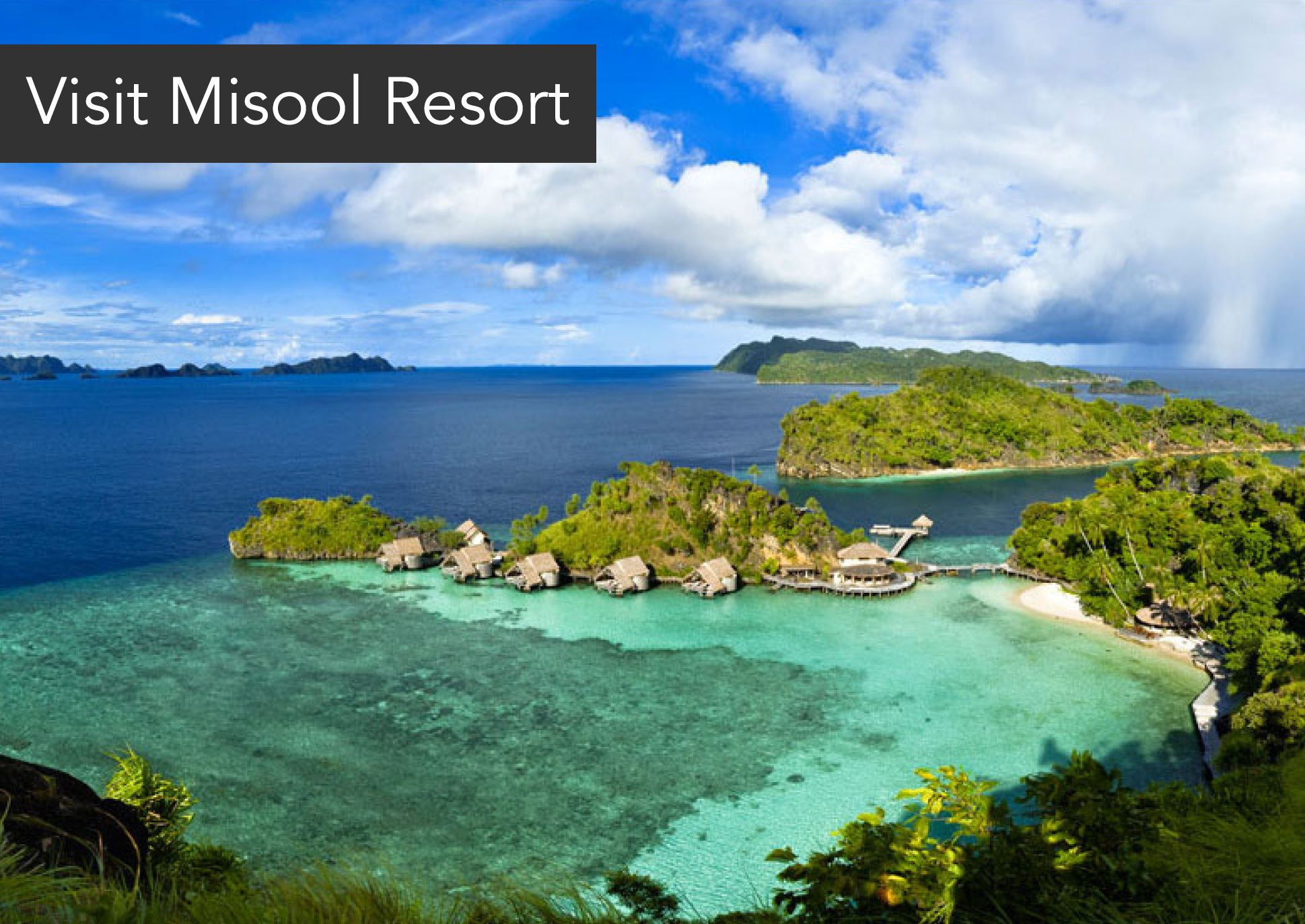 Visit Misool Resort in Raja Ampat - Come and experience the world's richest reefs in Raja Ampat. Just by visiting our sister resort, Misool, you are supporting valuable conservation projects.Misool donates 100 USD to Misool Foundation on behalf of each guest visiting the resort
