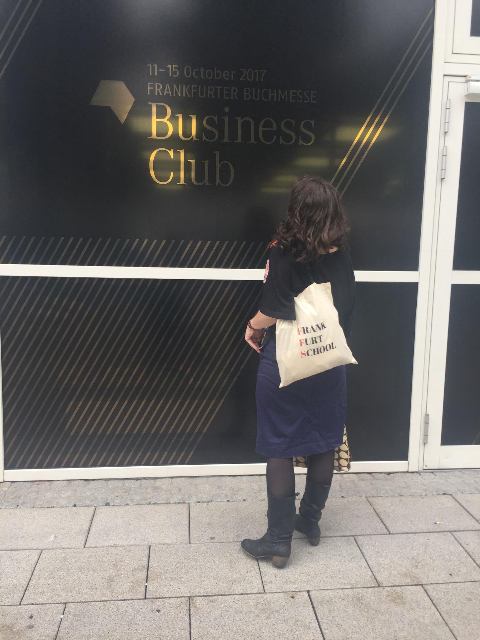 At the Frankfurt Book Fair Business Club