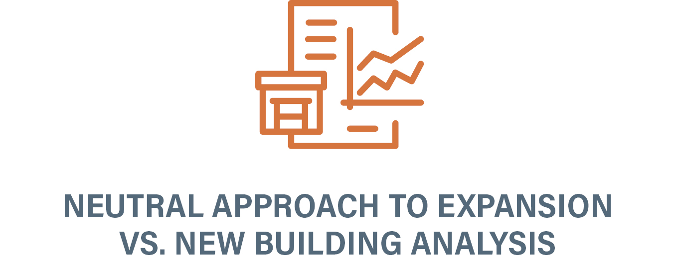 Facility Planning Expansion vs new building