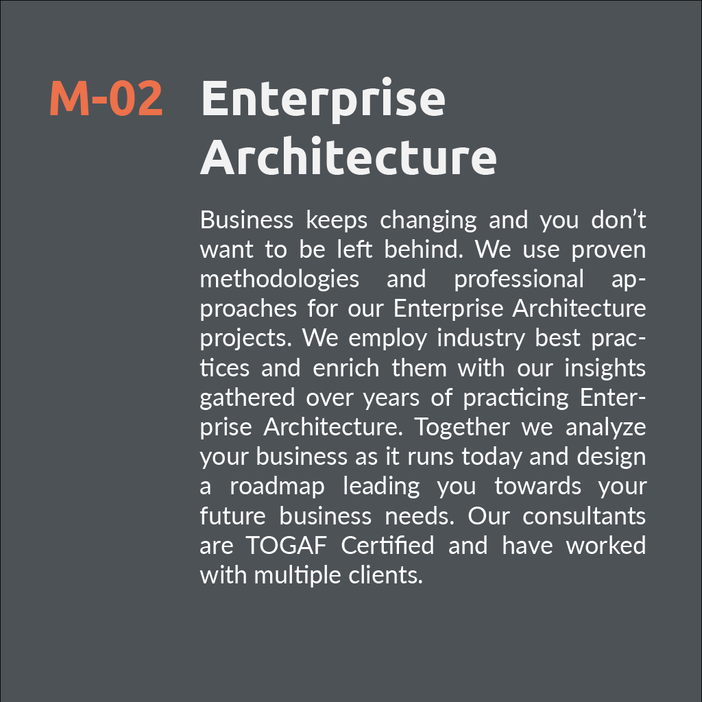 Enterprise Architecure