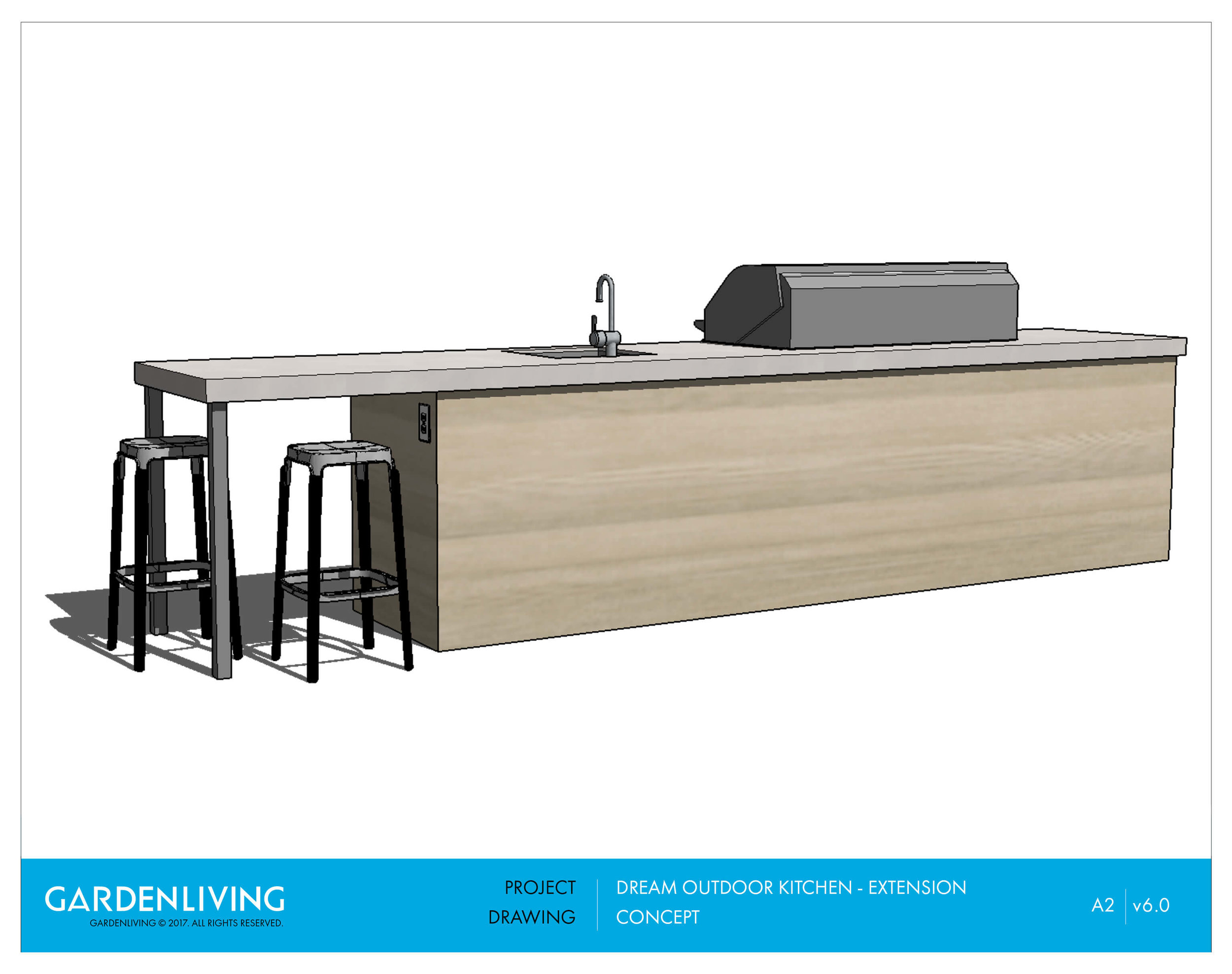 Outdoor Kitchen Extension - Concept Renders Rear.jpg