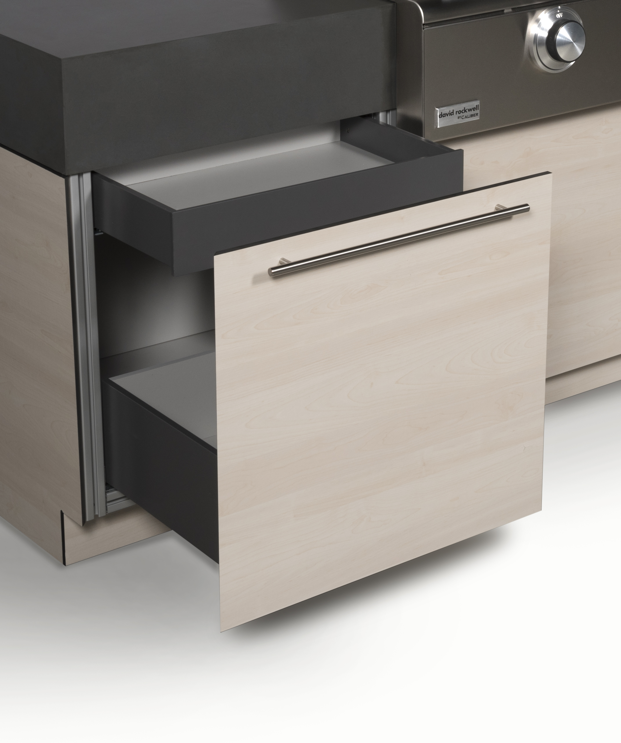 Single Bin Drawer + Inset