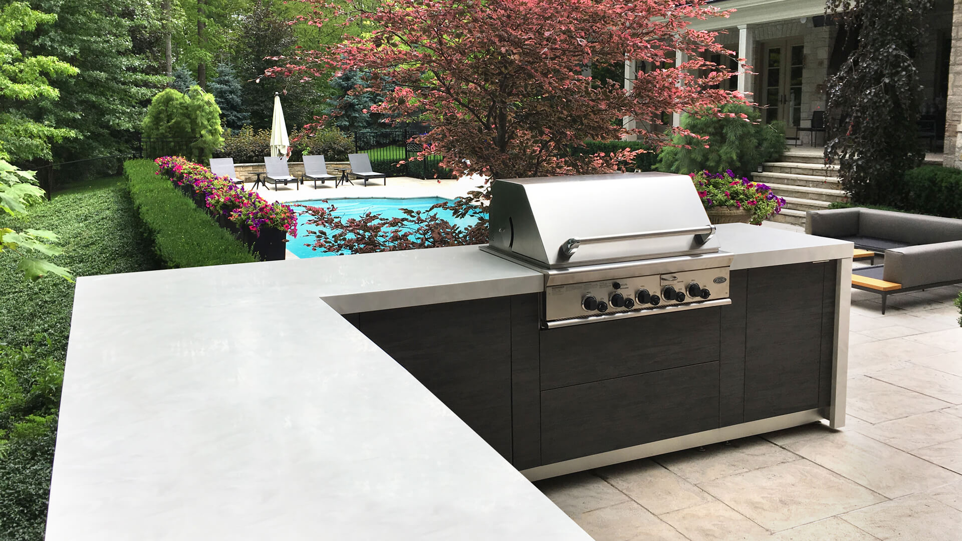 charcoal | outdoor Kitchen