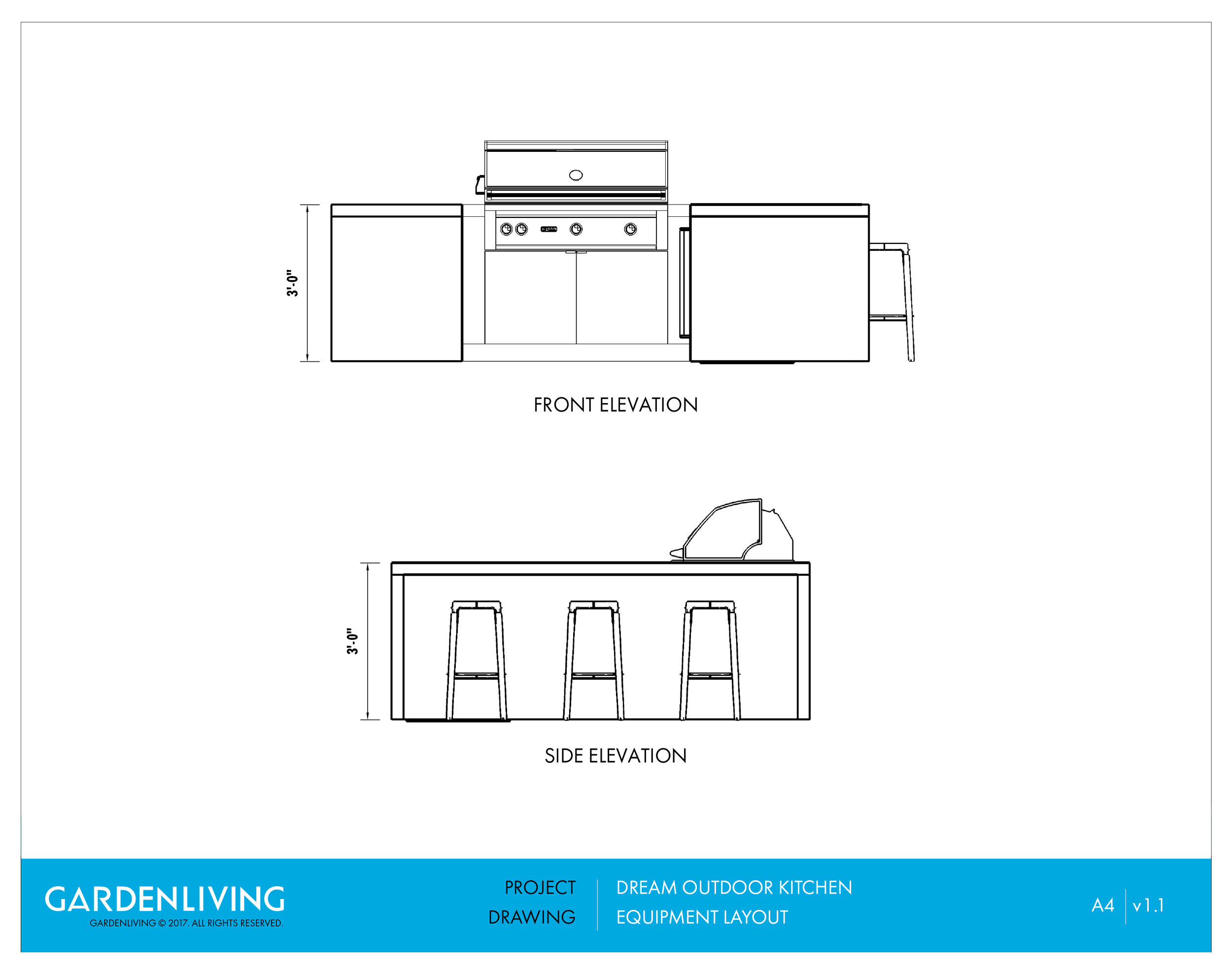 Garden Living - Outdoor Kitchen Architectural Drawings -Elevation Drawings.jpg