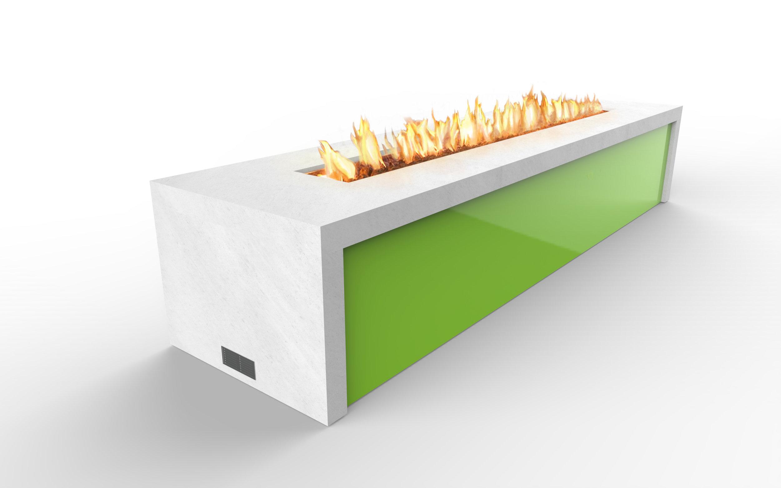 Fire feature concept narrow band - perspective  - carrara-lime -fire.jpg