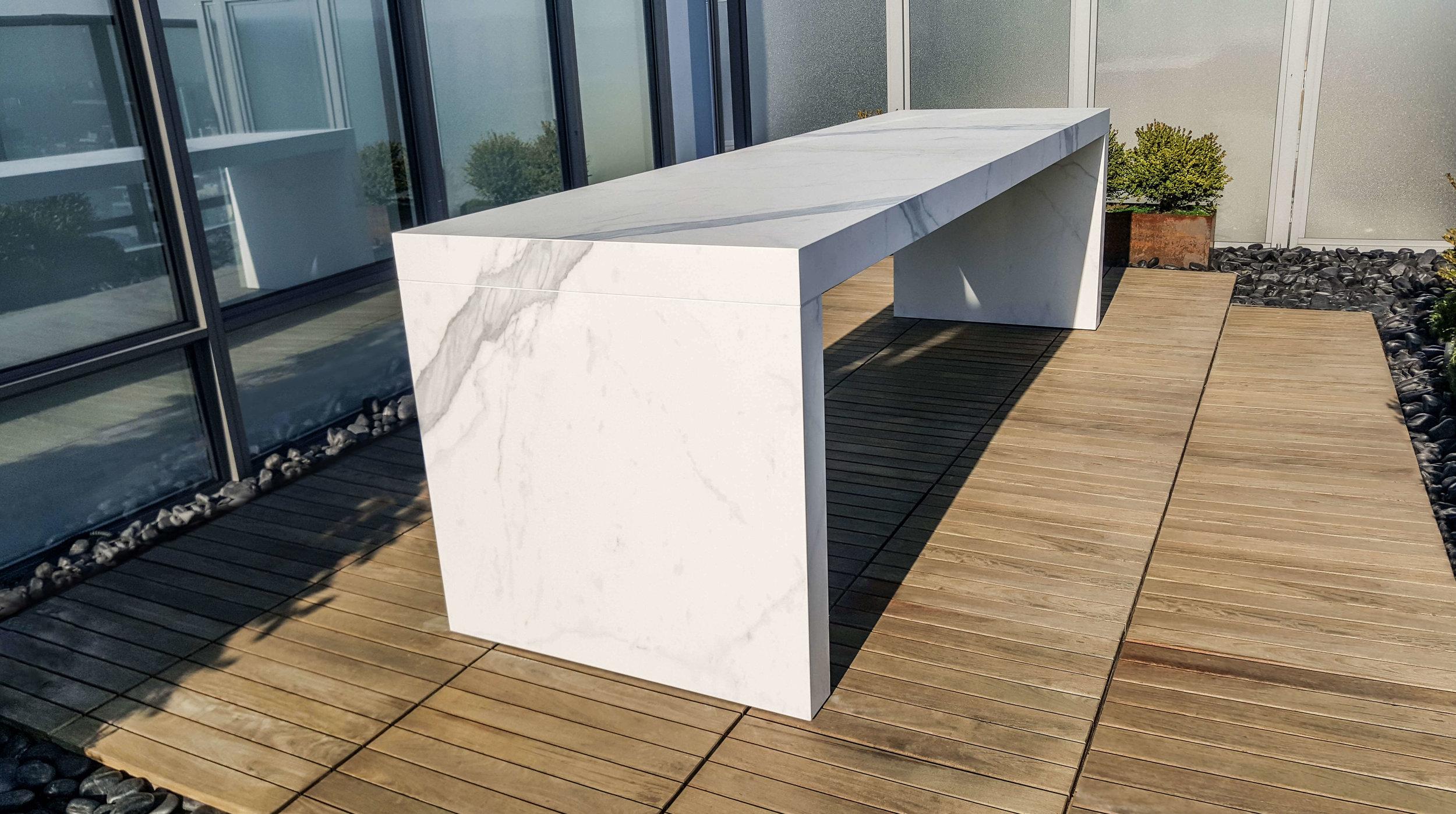 Custom Outdoor Table