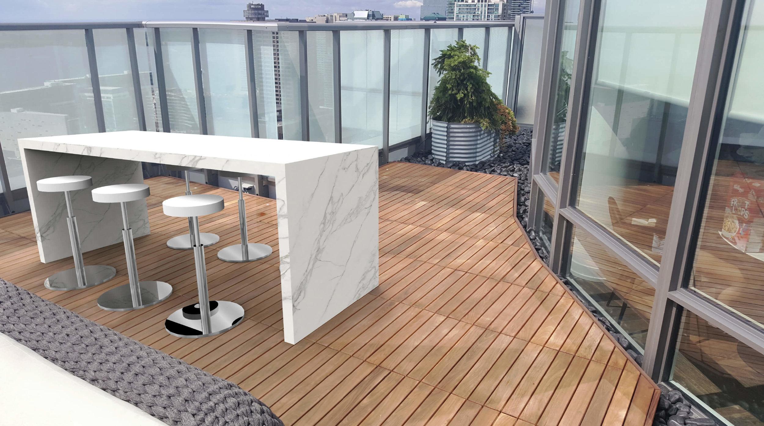 Garden Living - Custom Table Calacatta.jpg
