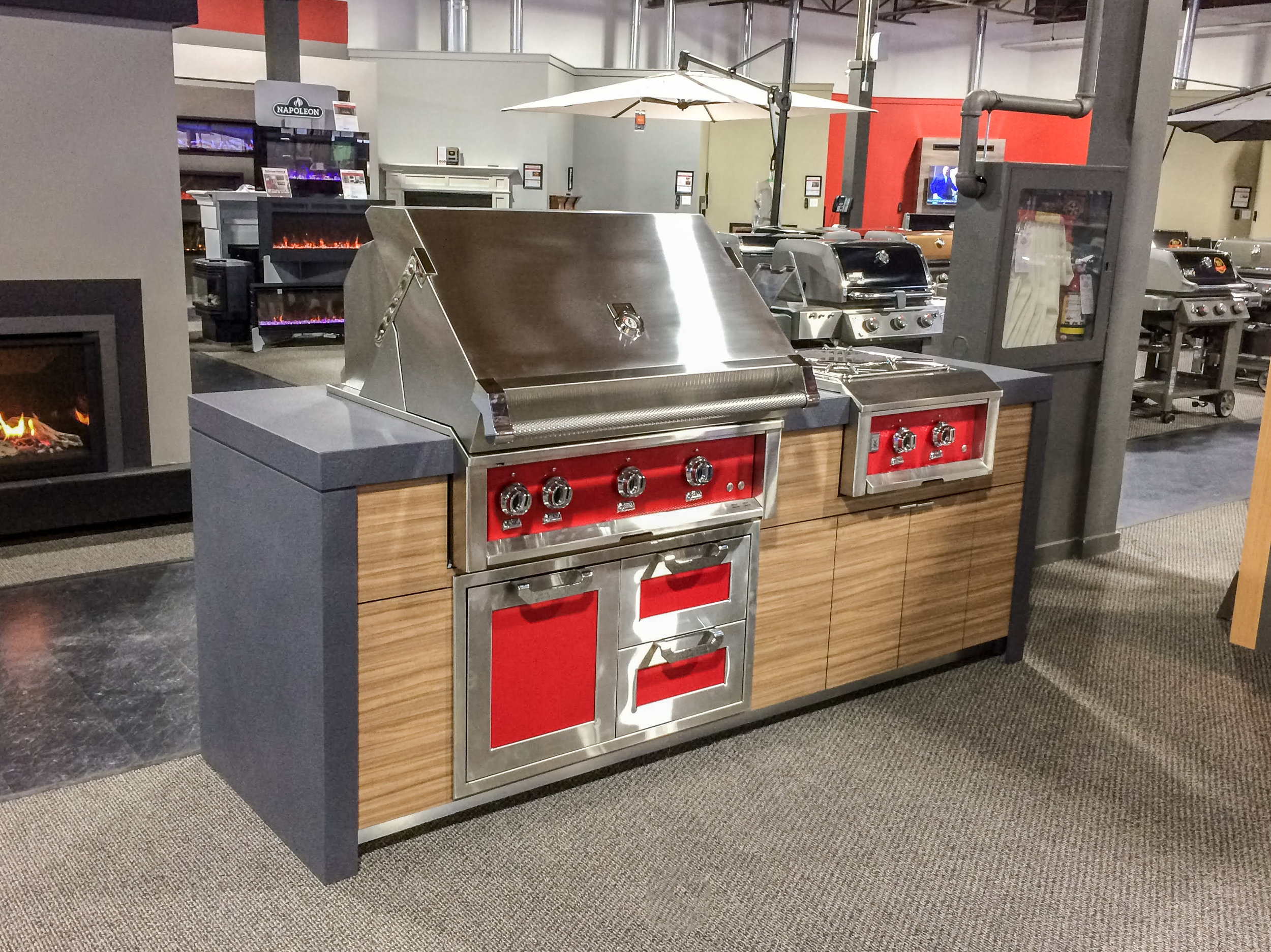 barbecues galore | outdoor kitchen display