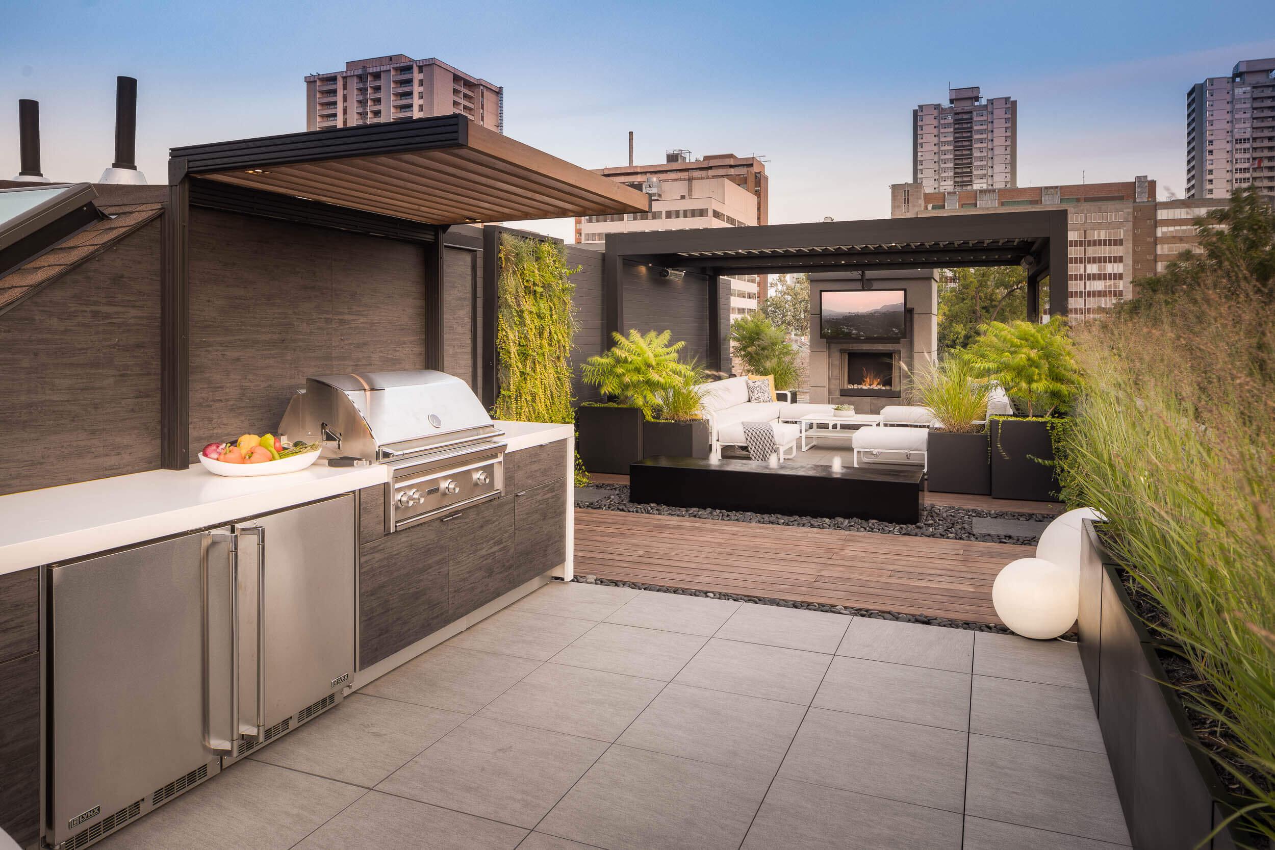 Garden Living Outdoor Kitchens Rooftop Outdoor Kitchen