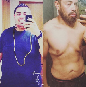 Edgar Barron. 75 pounds lost. Functional Fitness Athlete.