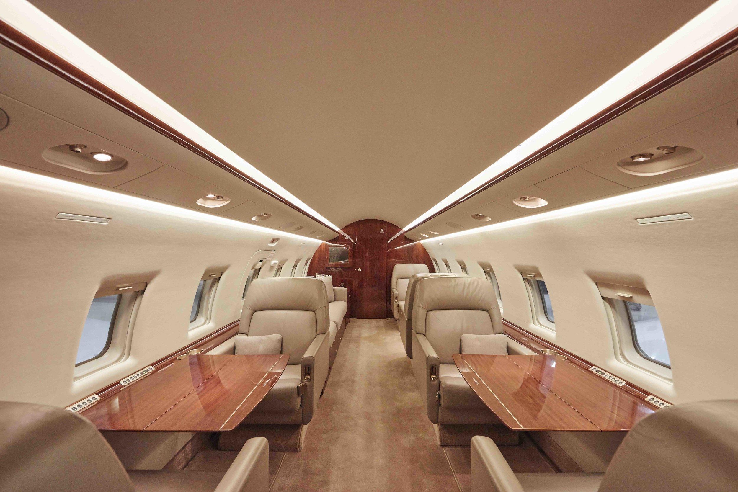2005 Challenger 604 For Sale Interior 2