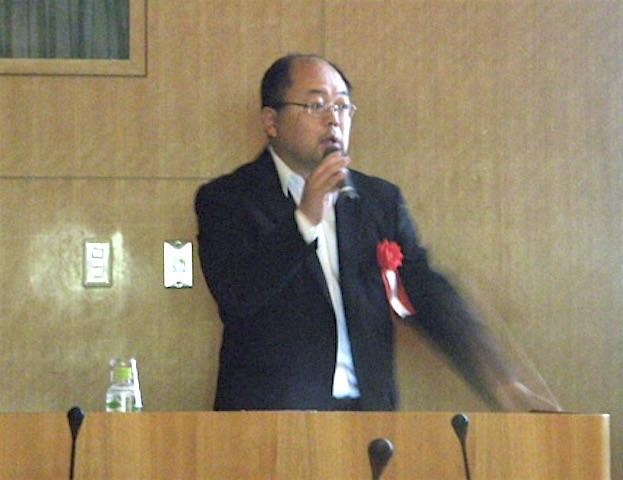 神戸市森川先生のご講演