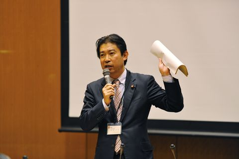 衆議院議員福島先生