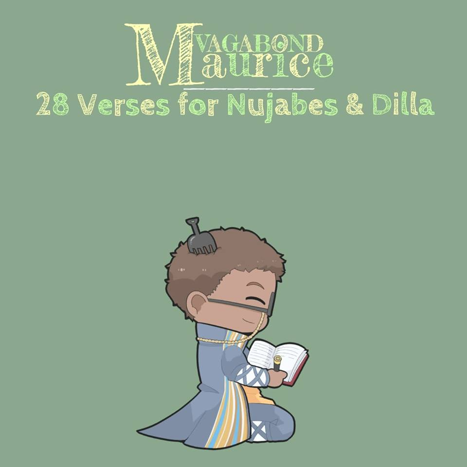 28 VERSES FOR NUJABES AND DILLA - FEATURING PRODUCTION FROM BRAD KEMP + EKI DARMAWAN, ORLANDO COOLRIDGE, S I M , CHIEF TAKINAWAAVAILABLE NOW ON ALL STREAMING PLATFORMSBROUGHT TO YOU BY SLUMPGANG777