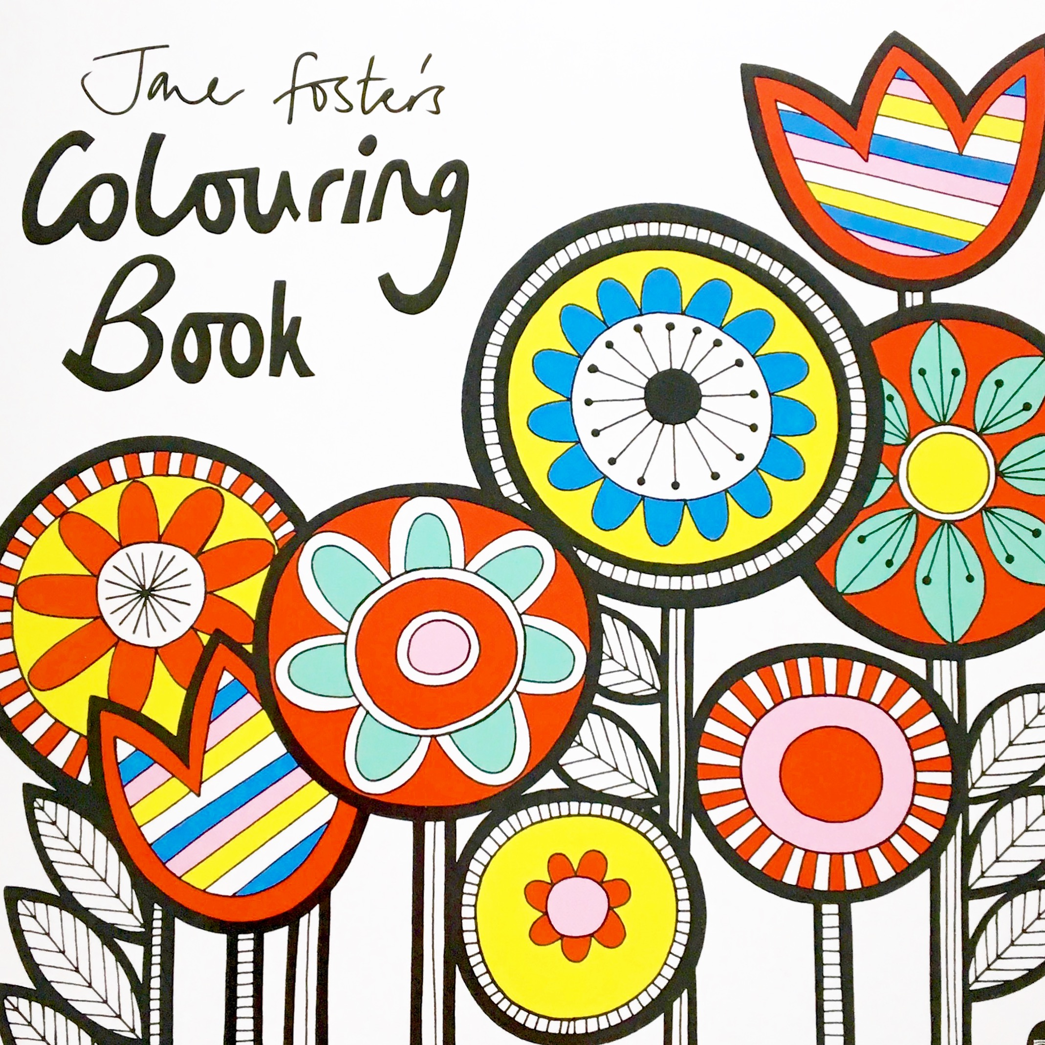 The cover of my new colouring book.