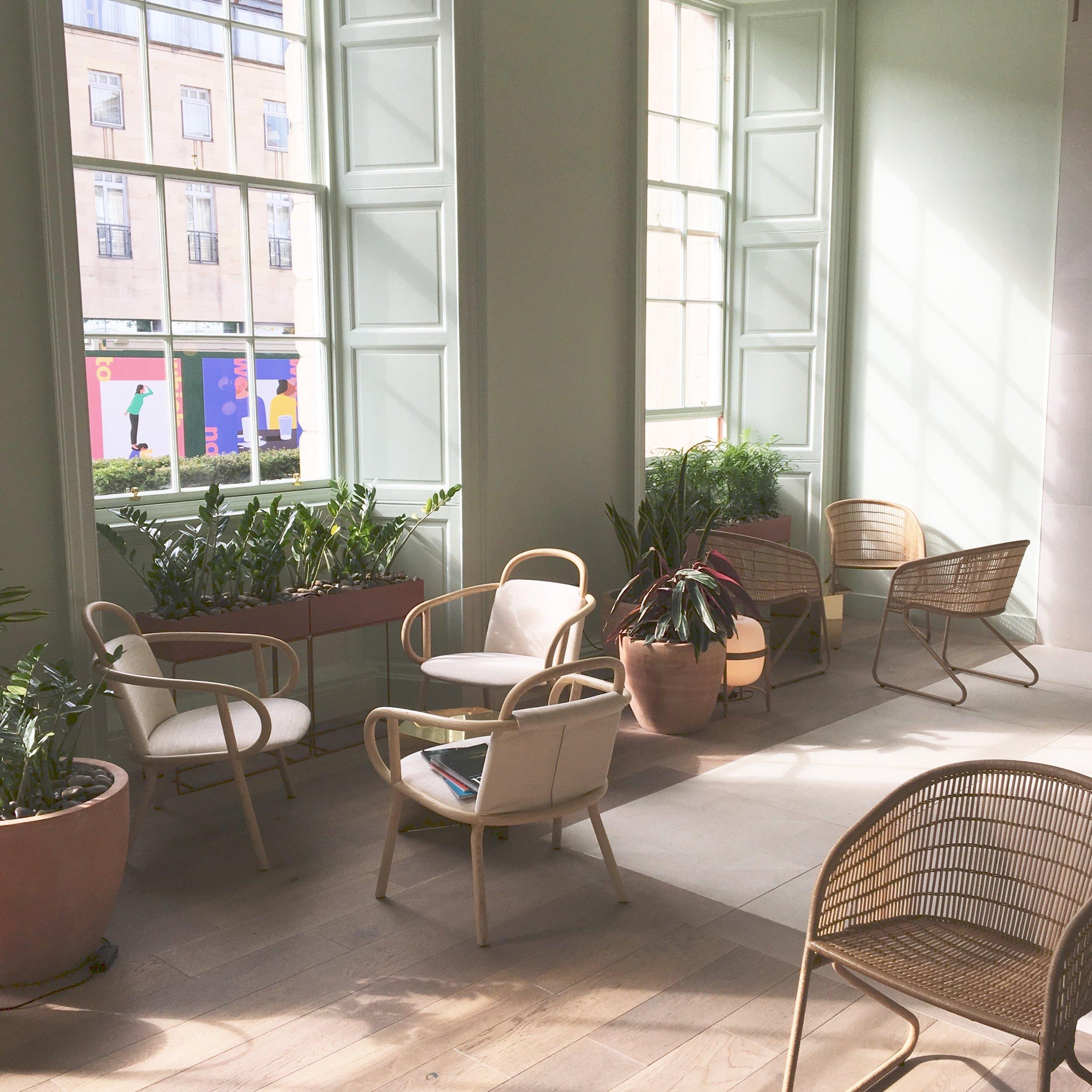 Eden Locke - lobby / cafe / bar area