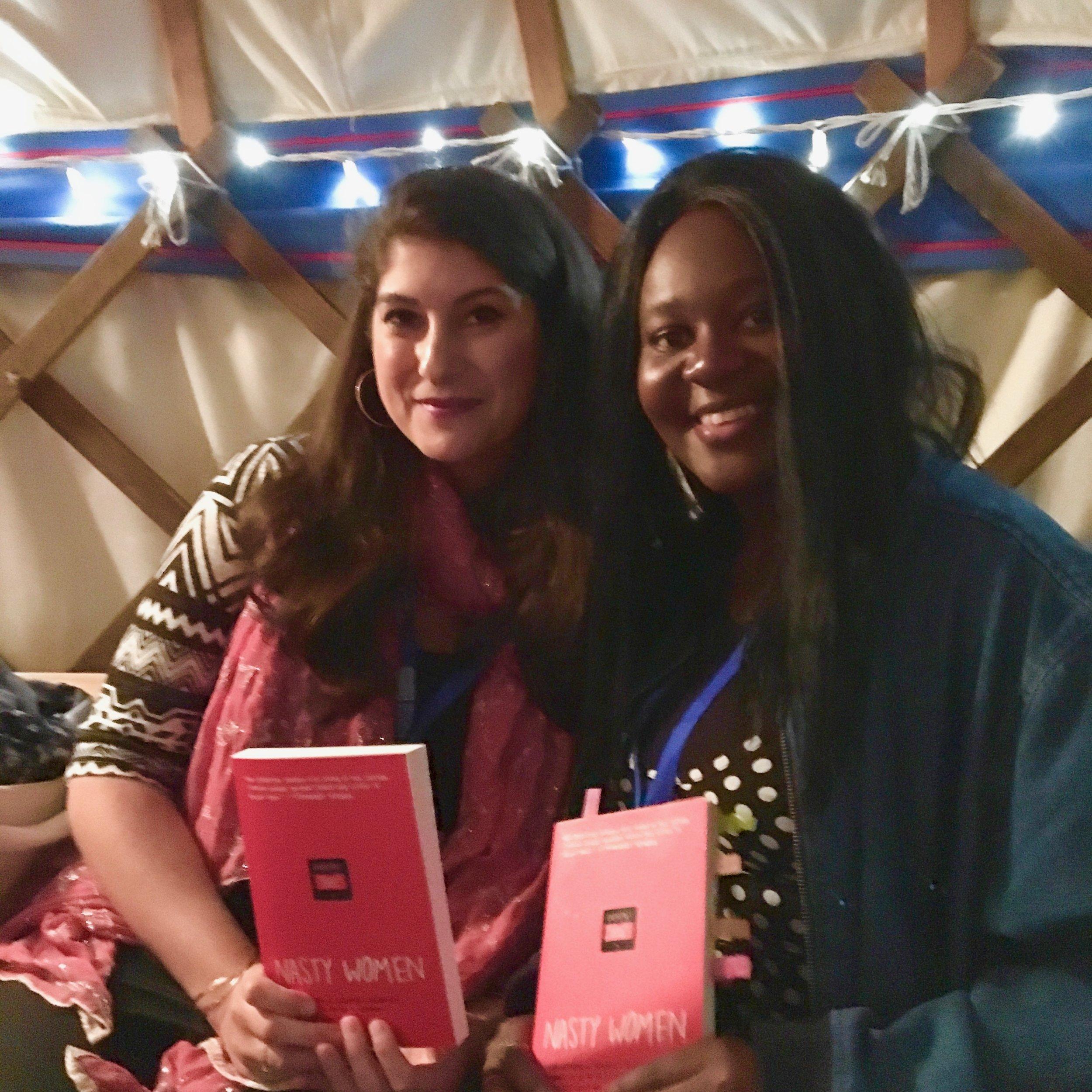 Nadine and Joelle