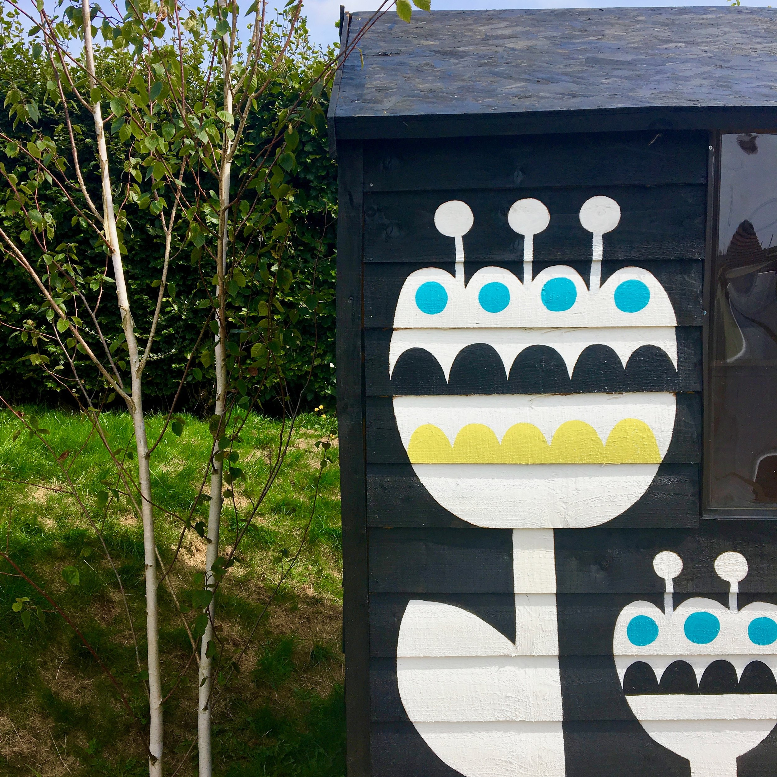 My new Scandi summer house /shed