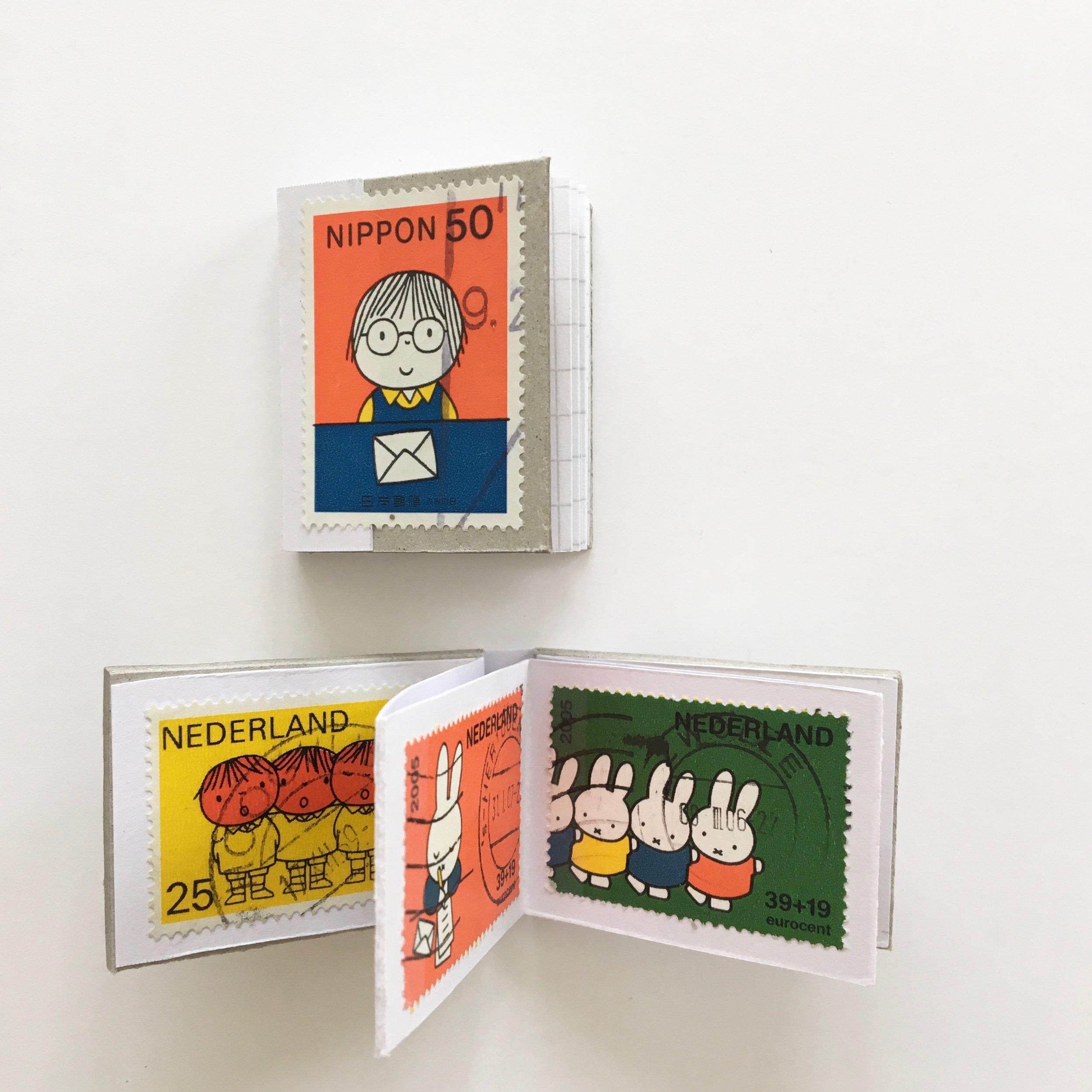 Handmade stamp books