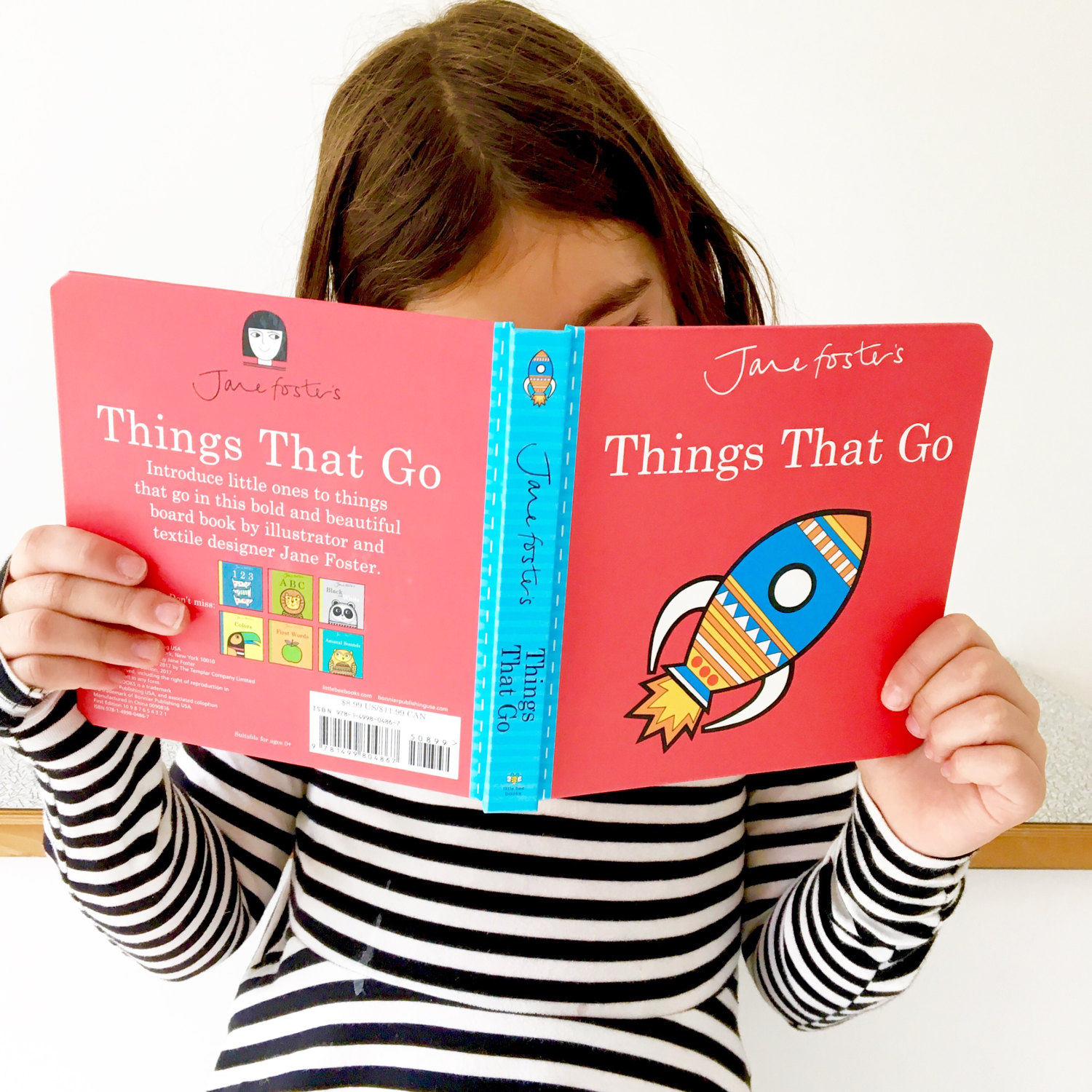 My baby board book 'Things That Go' published by Templar Publishing.