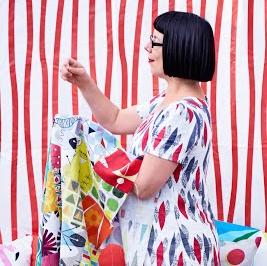 Ikea photo shoot focussing on Scandinavian Textiles.
