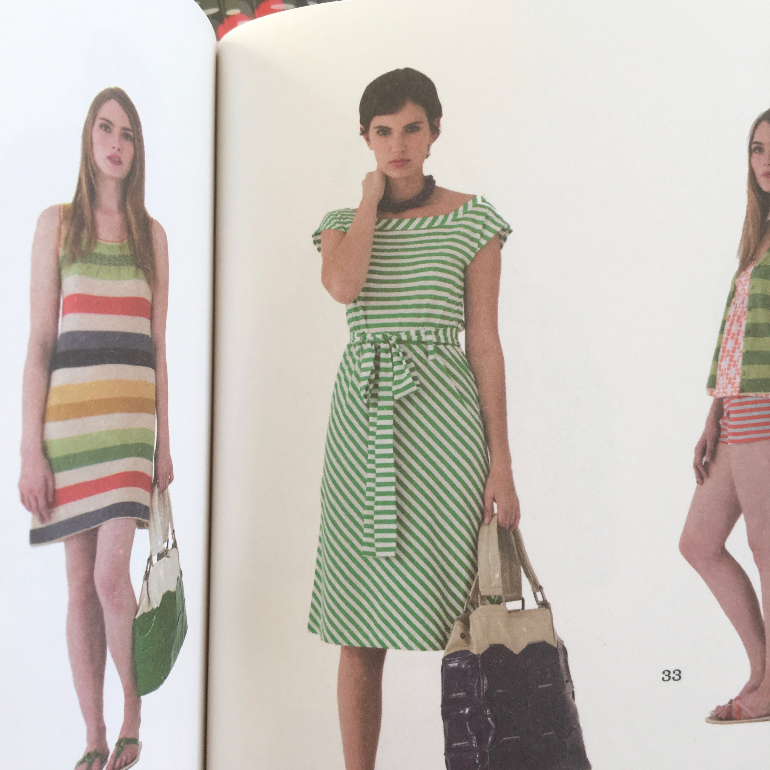The green striped dress that was my favourite for years!