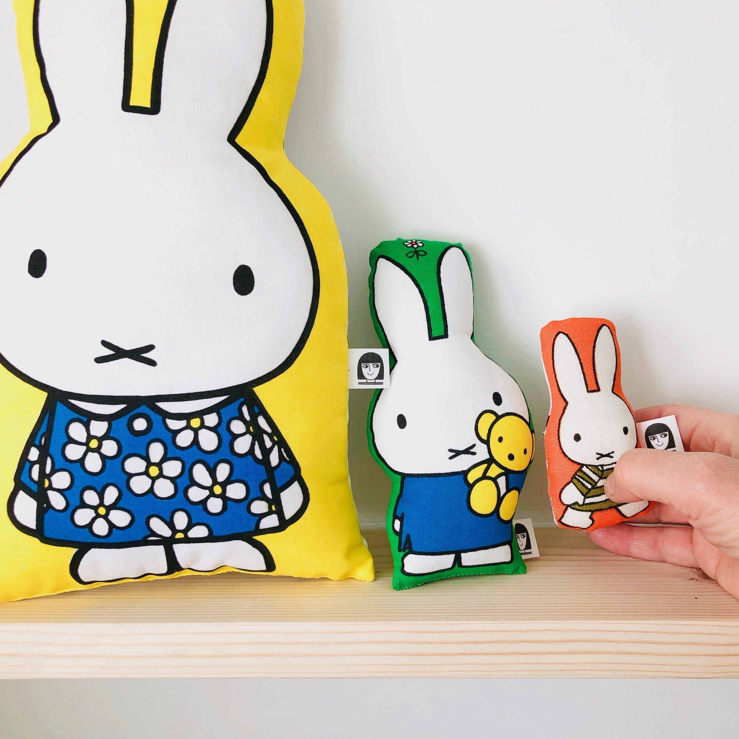 My handmade Miffy toys - Jane Foster