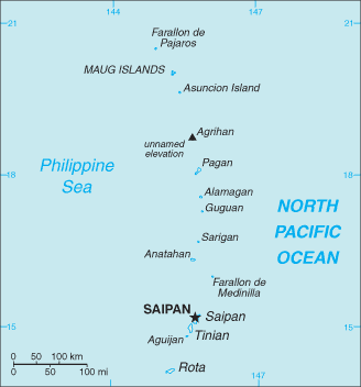 The Northern Mariana Islands