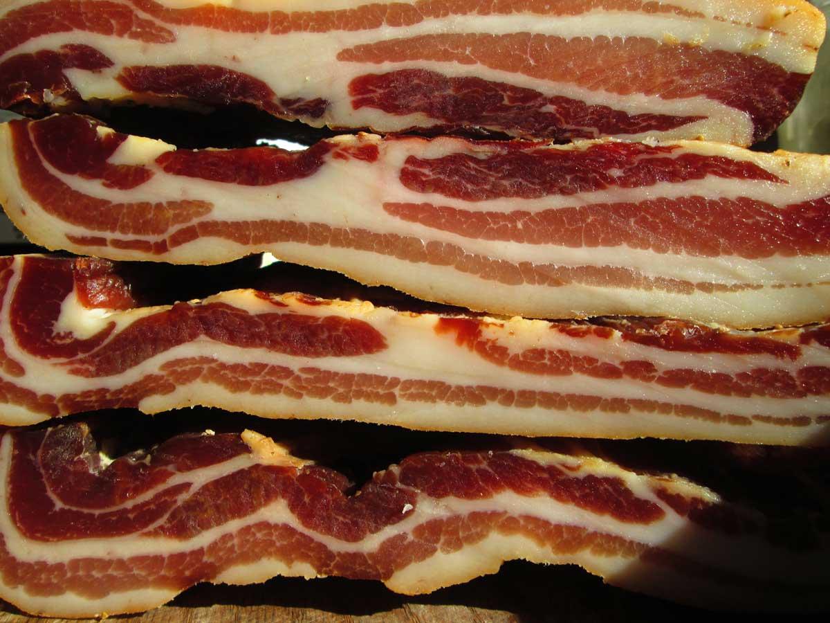 Foggy Knob Farm Bacon rich in Vitamin D!