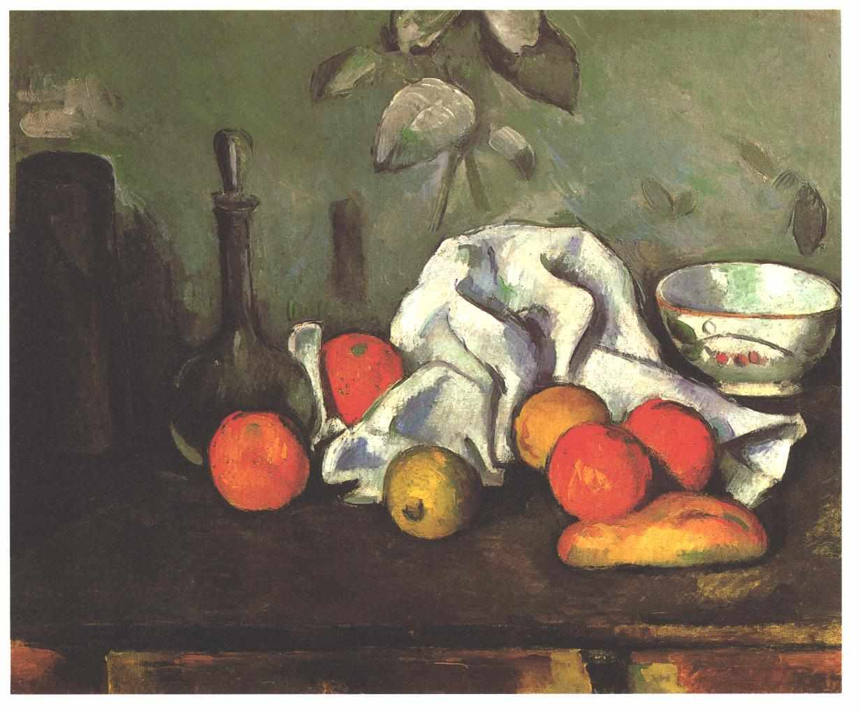 Paul Cezanne, Still life with fruits